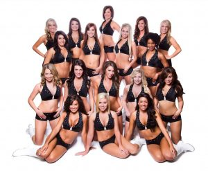 Omaha Nighthawks 2012 Cheerleaders